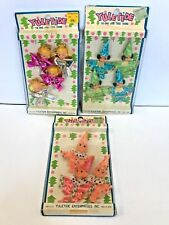 Vintage Christmas Ornaments Tie-Ons 1950's Japan Nos