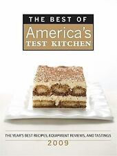 The Best of America's Test Kitchen 2009: The Year's Best Recipes, Equipment Revi