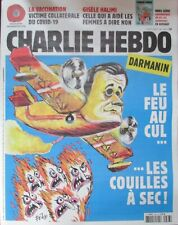 CHARLIE HEBDO N° 1463 de Août 2020 DARMANIN LE FEU AU CUL LES COUILLES A SEC !
