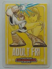 Star Wars Celebration Europe show pass 2007 Adult Friday