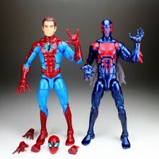 "Marvel Legends Infinite Series Unmasked Homecoming & Spiderman 2099 6"" Figure"