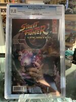 Street Fighter Unlimited #1 Heroes' Haven Exclusive Variant Cover Akuma CGC 9.8