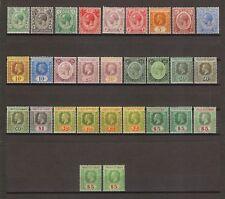 MALAYA/STRAITS SETTLEMENTS 1912/23 SG 193/212 & Shades MINT Cat £1175