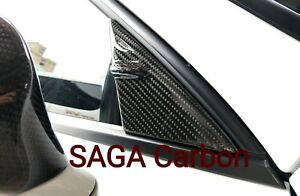 Fits Lexus IS 2014~ON Real CARBON FIBERA Column Guide Fin Cap
