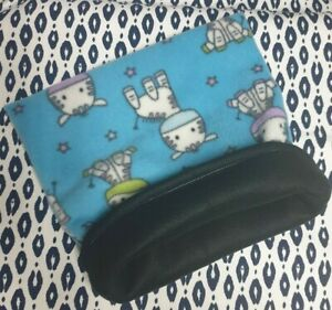 Snuggle Pouch Cuddle Pouch Bag Sack Ideal For Guinea Pig Rat  - Donkey Design