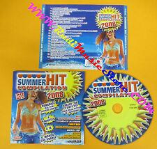 CD Compilation SUMMER HIT 2008 Jovanotti Zucchero Nannini Vasco no lp mc(C14)