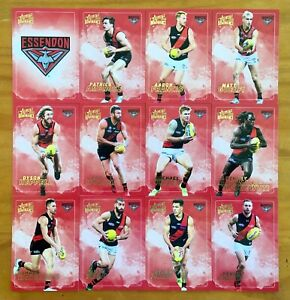 2020 SELECT AFL DOMINANCE SERIES ESSENDON BOMBERS CARD SET