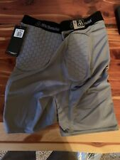 McDAVID Thudd Padd ATHLETIC COMPRESSION SHORTS~FOOTBALL~SZ LARGE~NOS