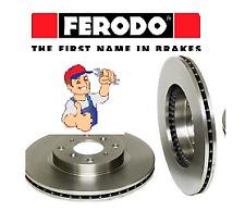 COPPIA DISCHI FRENO ANT/POST FIAT COUPE (FA/175) 2.0 20V Turbo > DDF140 FERODO