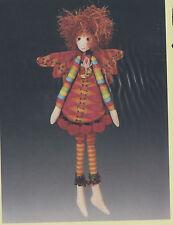 PATTERN - Pixie Dust - cute little cloth doll PATTERN - Magic Threads