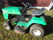 "Parts or Repair Rally 38""/4 Speed Ride-On Lawn Tractor/No Engine Or Battery!"