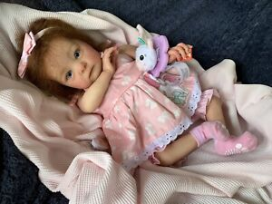 Sweet Reborn Baby GIRL Doll MILLIE was Tink Bonnie Brown COMPLETED Baby