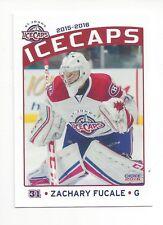 2015-16 St. John's IceCaps (AHL) Zachary Fucale (Fort Wayne Komets)