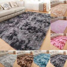Fluffy Tie-Dye Area Rugs Non-Slip Shag Soft Rectangle Carpet Living Room Bedroom