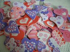 Novelty Gag Gifts Valentines Foam Adhesive Loving Hearts Arts/Crafts Lot of 20