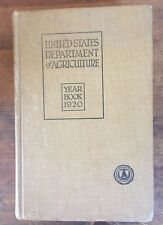 United States Department of Agriculture Yearbook 1920, Henry Wallace, Sect. Ag