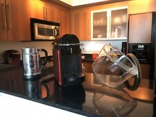 Nespresso Pixie D60 Espresso Coffee Capsule Machine Maker RED