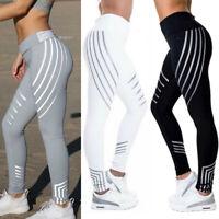 Women Yoga Leggings Sports Gym Exercise Jogging Workout Pants Stretch Trousers