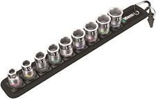 Wera 10 pièce 1cm Carré Dr Support Fonction 8-19mm Douille hexagonal Set &