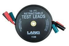 Retractable Test Leads - 3 Leads x 10' LNG-1129 Brand New!