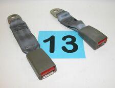82-92 Camaro Firebird Medium Gray Rear Seat Belt Buckles  PAIR  #13