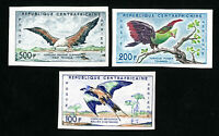 Central Africa Stamps # C1-3 XF Imperf OG NH