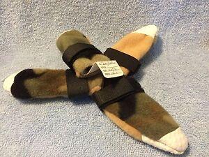 Grandmas Dream Dog Handmade Booties Size XXSmall Camo #2