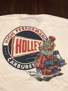 Holley Carburetors T- shirt XL