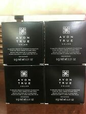 AVON True Color FLAWLESS CREAM TO POWDER Creamy Natural Lot of 4 FREE SHIPPING