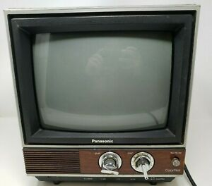 """Panasonic Color Pilot TV 10""""CTG-1000  Tested working 1980s Vintage Television"""