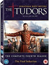 The Tudors - Season 4 [DVD] [2011] Complete Series 4 Jonathan Rhys Meyers UK R2
