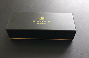 Cross Chrome / Gold Pen & Pencil Set Presentation Set In Excellent Condition