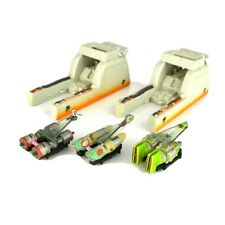 Star Wars Micro Machines 3 Pod Racers with 2 launchers Galoob 1998