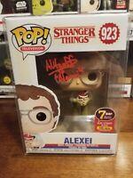 Alexei #923 Alec Utgoff Autograph Funko 7BAP Signature Series 145 Pieces