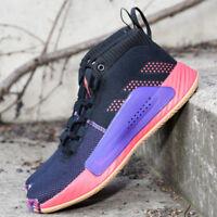 Adidas Dame 5 Black Red Purple BB9313  Damian Lillard Basketball Shoes Sneakers