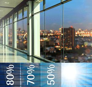 Sonnenschutzfolie PREMIUM AUSSEN Wärme- u. Hitzeschutz Fensterfolie Spiegelfolie