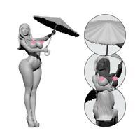 1/24 Love Beauty Soldat Epoxidharz Modell Heiß
