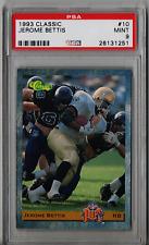 1993 Classic Jerome Bettis Rookie #10 PSA 9 P755
