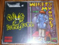 Snoop Doggy Dogg  'What's My Name' CD Single Brand New import Rare oop