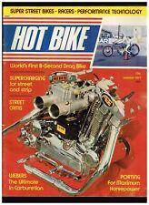 HOT BIKE SUMMER 1971 NO 1 PREMIER ISSUE CONTENTS CUSTOM BIG BIKE STREET CHOPPERS
