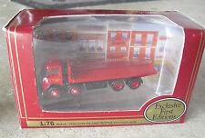 EFE Gilbow  1/76 Scale Diecast Atkinson 8W Flatbed Truck Sutton NIB