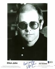 Elton John Signed Autographed 8x10 Photo RP