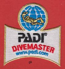 PADI DIVEMASTER  DIVER SCUBA DIVE SHOULDER PATCH