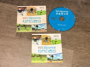 Wii Sports Nintendo Wii Complete CIB Authenitc