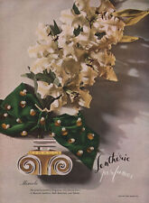 Lentheric Miracle Perfume YELLOW TIGER LILY Fragrance PARFUM 1948 Print Ad