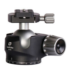 Leofoto LH-55 lower center double notch Ball Head with Quick Release plate