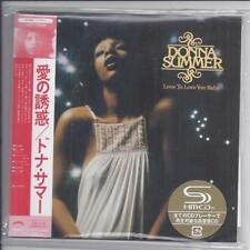 DONNA SUMMER Love To Love You Baby JAPAN mini lp cd SHM papersleeve UICY-75296