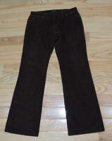 The Limited Drew Fit Women's Size 4 Dark Brown 5 Pocket Corduroy