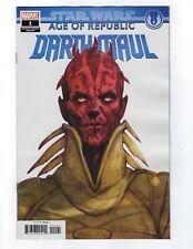 Star Wars Age Of Republic Darth Maul # 1 Design Variant NM Marvel