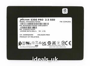 """Micron 5300 PRO 1.92TB SSD 2.5"""" SATA III (MTFDDAK1T9TDS) Enterprise Drive"""